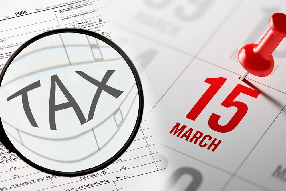 March 15 - Tax date for Corporations and LLC