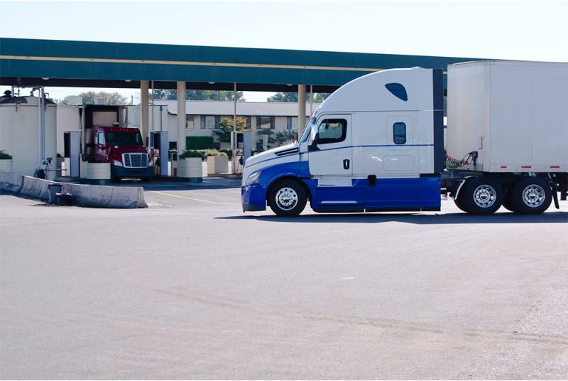 Arriving at a Truck Stop can be pleasant or cause a headache