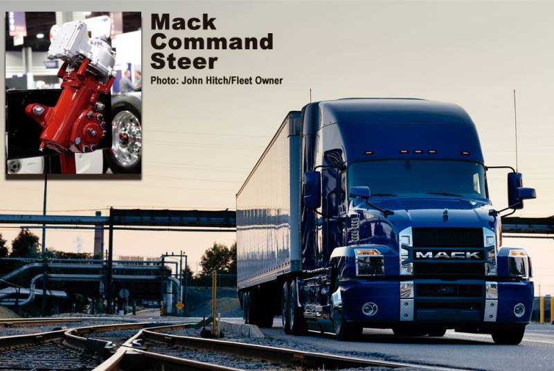 Mack introduces a smoother Command Steer
