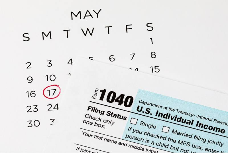 IRS extends payment of individual taxpayers until May 17
